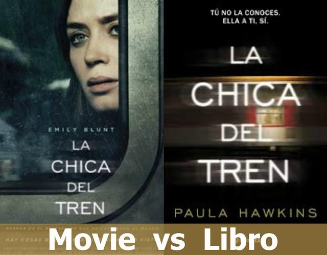 Movie vs Libro: La chica del tren