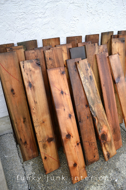 How to stack washed reclaimed wood to dry so it doesn't warp - part of a desk build.