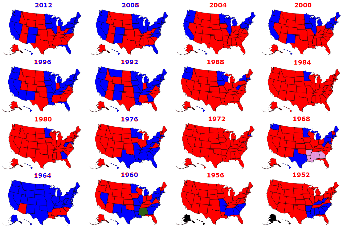What Year Did The Electoral College Start 24