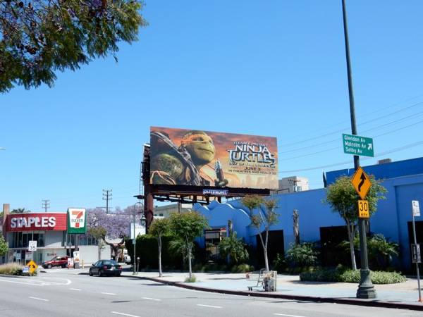 Teenage Mutant Ninja Turtles 2 billboard