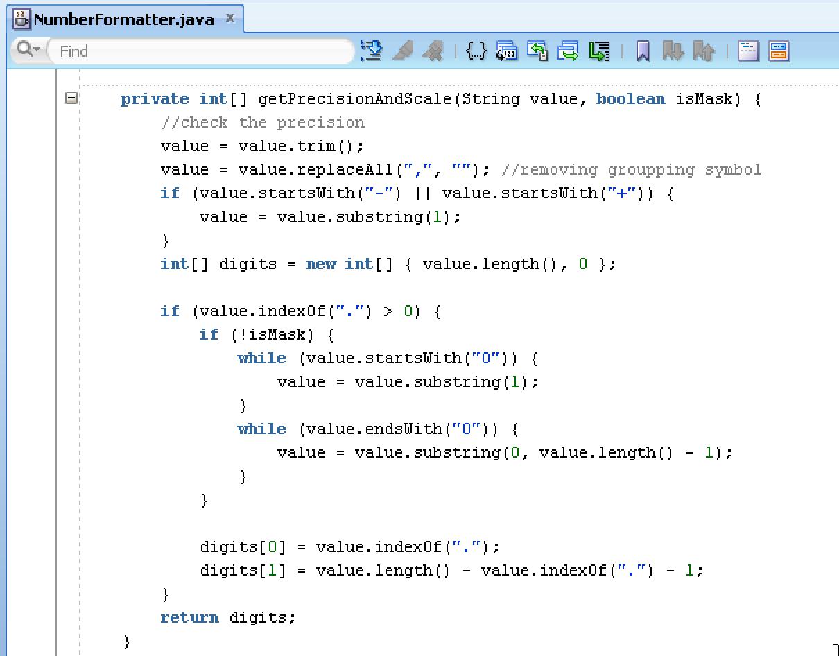 Andrej Baranovskij Blog: Handling Format for BigDecimal