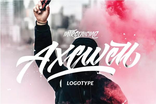 Axewell Logotype Font