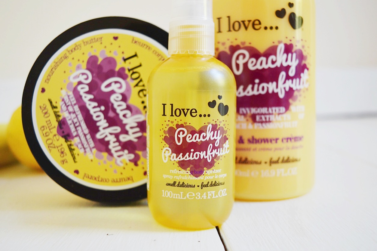 I Love Peachy Passionfruit skincare review, FashionFake, beauty bloggers