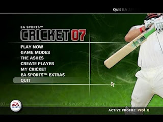 EA Sports Cricket 2007,2016,2017 Game Free Download