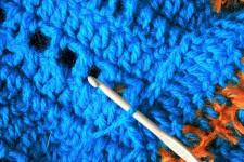 A origem do crochê feito com uma agulha