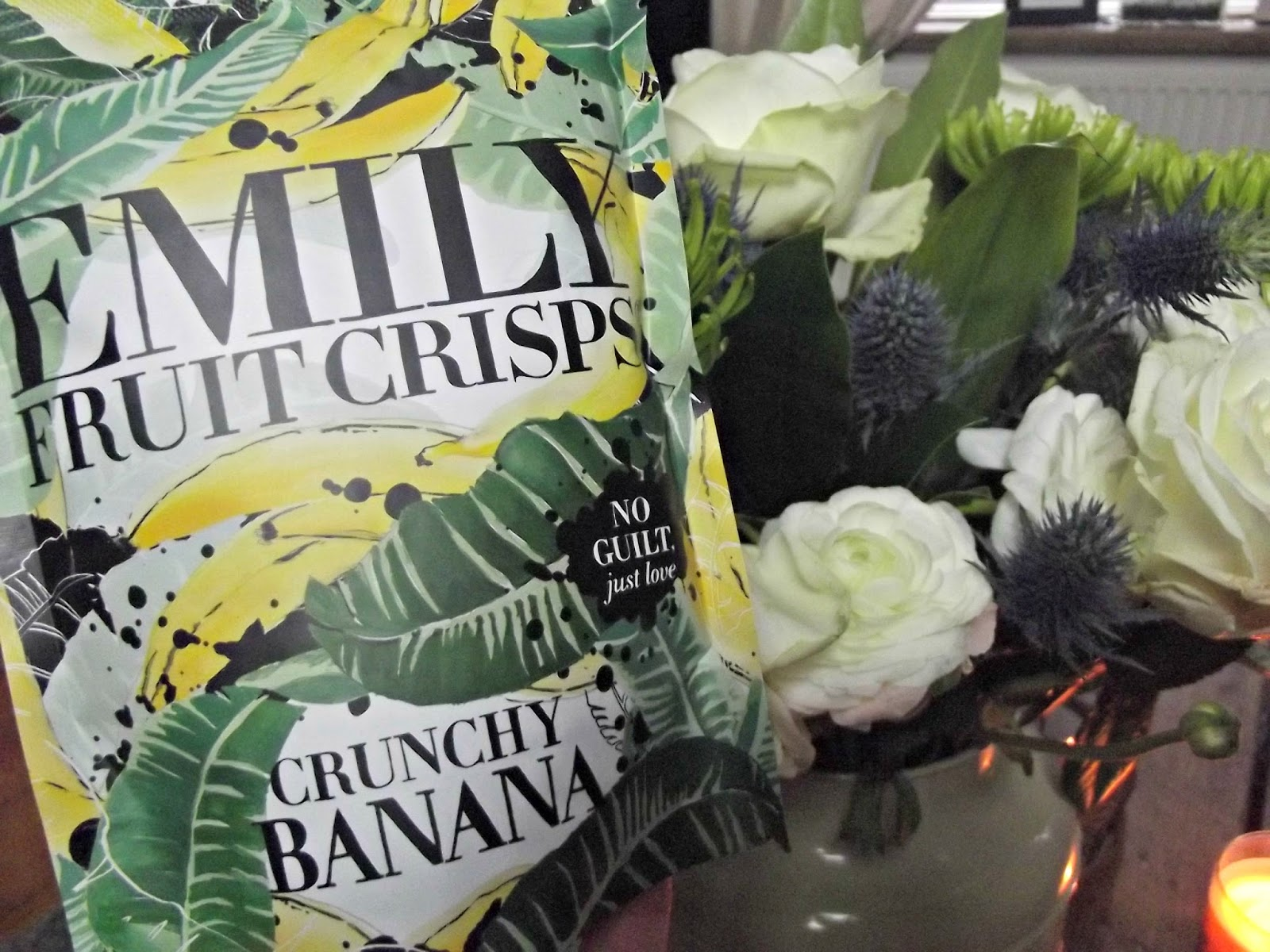 Emily Fruit Crisps Crunchy Banana