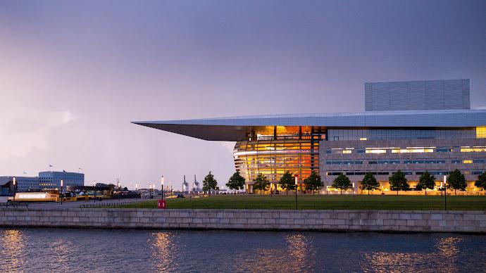 Wallpaper: The Copenhagen Opera House