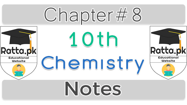 10th Chemistry Notes Chapter 8 Chemical Industry