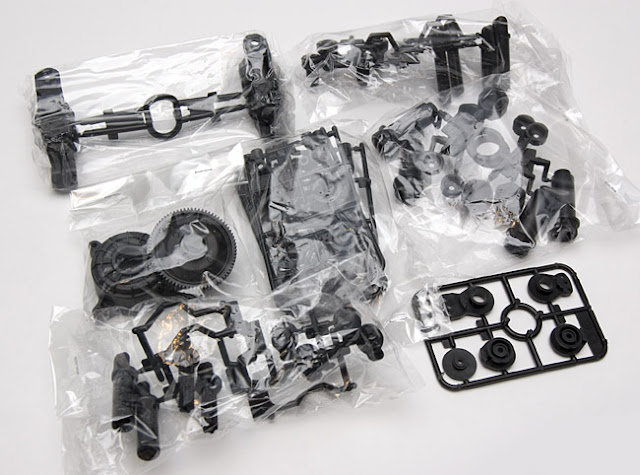 Tamiya Toyota Land Cruiser parts bags