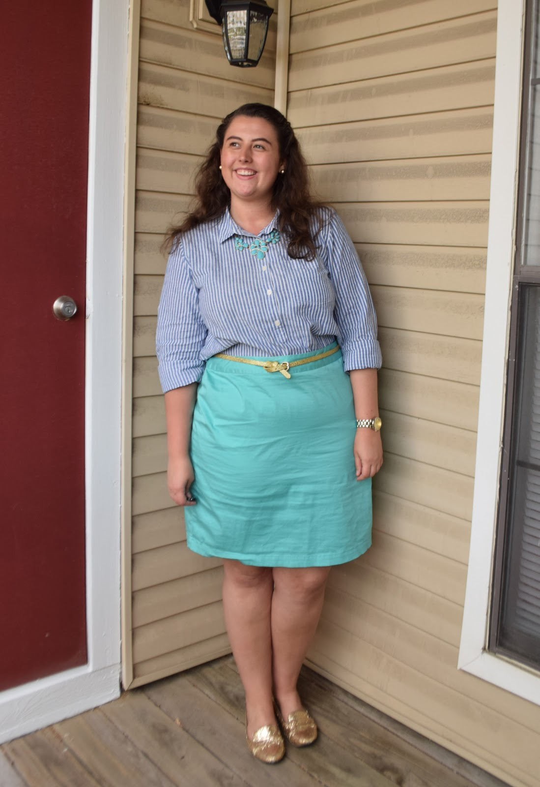 The Cheerful Closet: My Go-To Outfit Formula