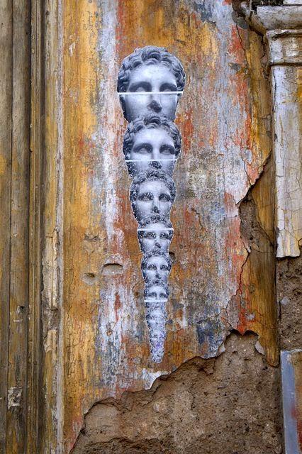 "Street Art Athens. Artist ""Hope"""