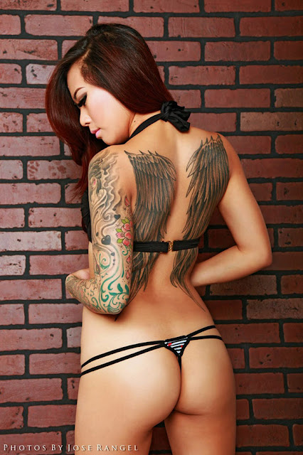 Kairi Dreme, Asian Girl, Ass, Tattoos