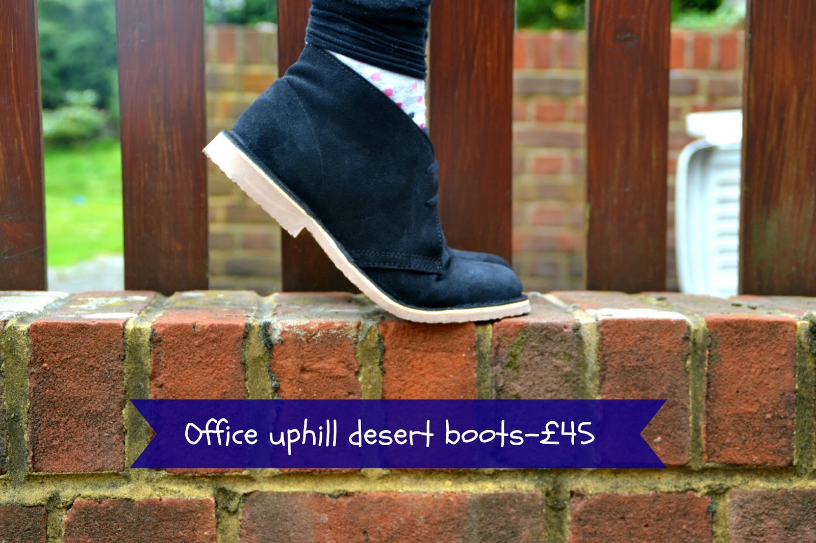 New Shoes Office Uphill Desert Boots
