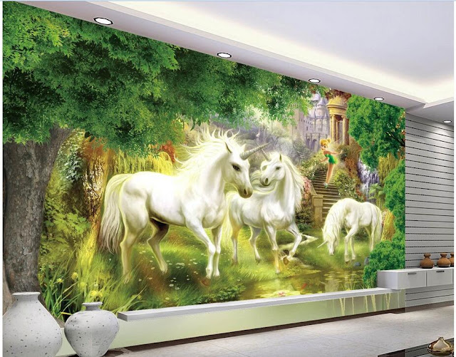Unicorn Wall Mural Photo Wallpaper