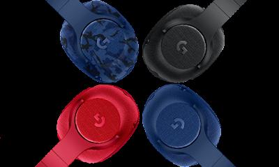 Audífonos Logitech G433 y G233