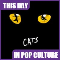 """The Broadway musical """"Cats"""" won a Tony award for best musical on June 5, 1983."""