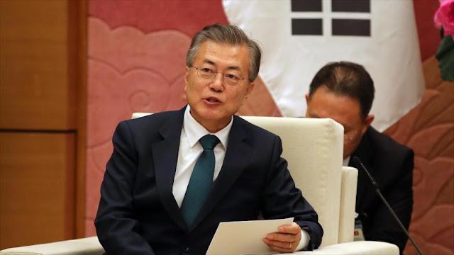 Moon afirma que Pyongyang no busca inesperada de tropas de EEUU