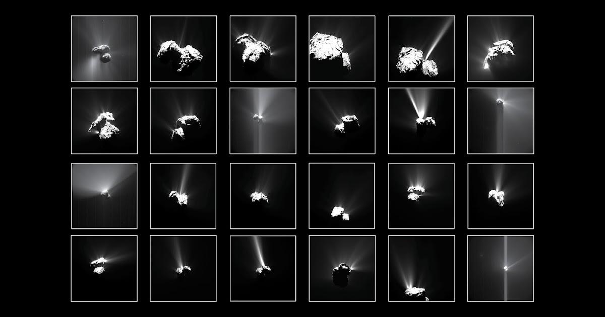Estate sulla cometa: i fuochi d'artificio osservati da Rosetta