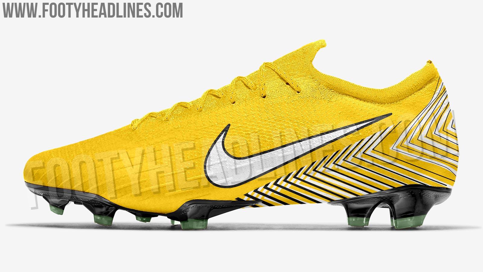 5dc2834d2b1 Insane  Amarillo  Nike Neymar 2018  Brazil  Signature Boots Jersey ...