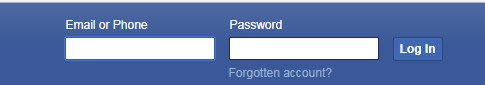 facebook login new account