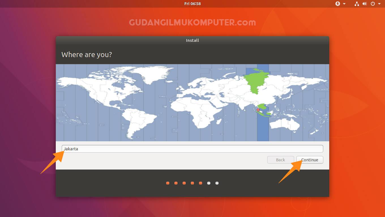 Cara Instal Ubuntu 17.10 (Artful Aardvark) Lengkap Beserta Gambar
