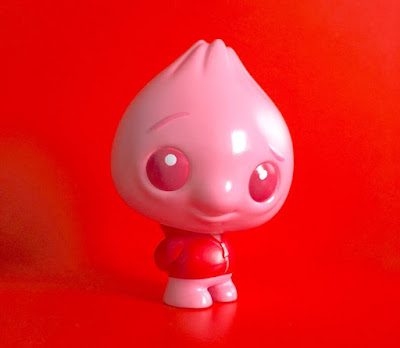 Bao Red Bean Edition Vinyl Figure by Scott Tolleson x Pobber