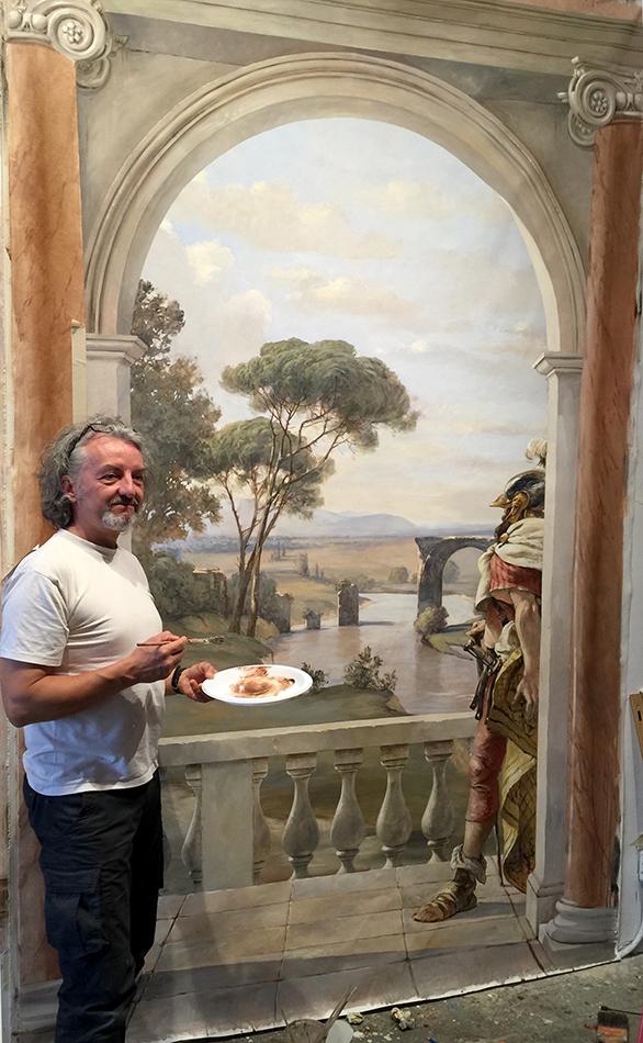 The Ornamentalist Pascal Amblard Summer Painting Classes