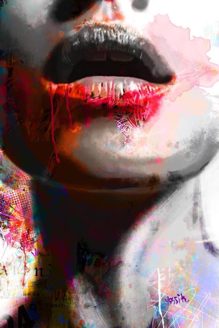 Красочные и насыщенные работы. Yossi Kotler