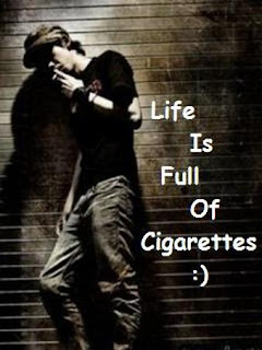 Boy Whatsapp DP With Cigarette