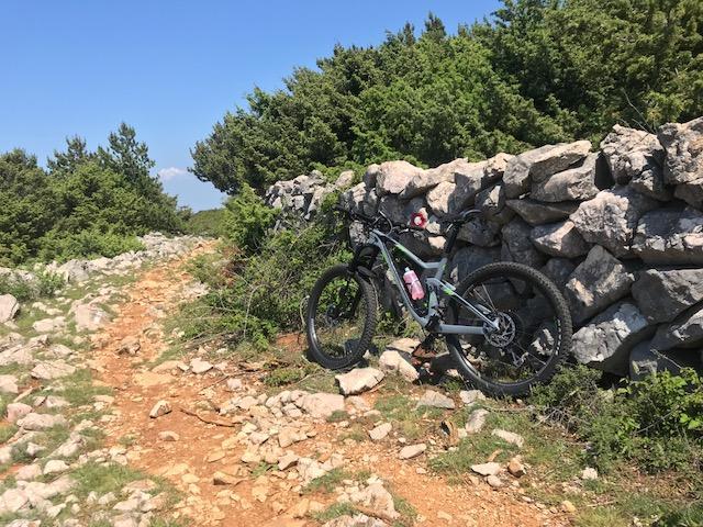 fatbike kroatien krk tour trail track gps mountainbike