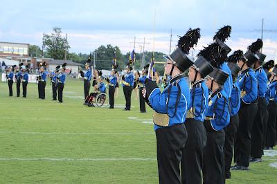 Catholic's Marching Band receives Superiors at Dixieland Marching Band Invitational 1
