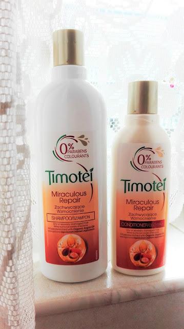 Timotei Miraculous Repair - zestaw odżywka + szampon