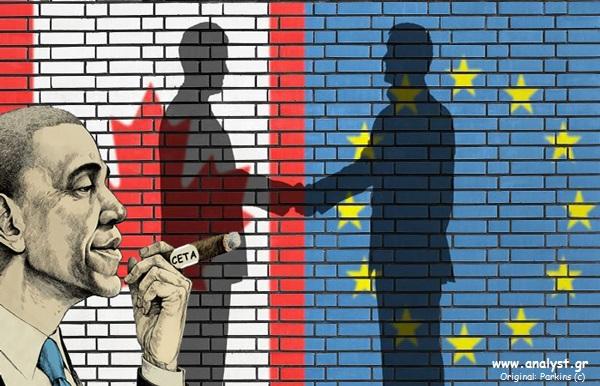 Ν. Κατσαρός: η CETA αποτελεί όχημα της παγκοσμιοποίησης