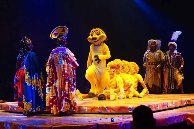 """Rei Leão"" na Disney"