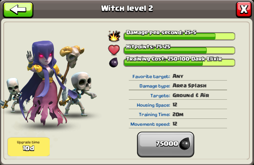 Witch ~ Clash of Clans Tactics