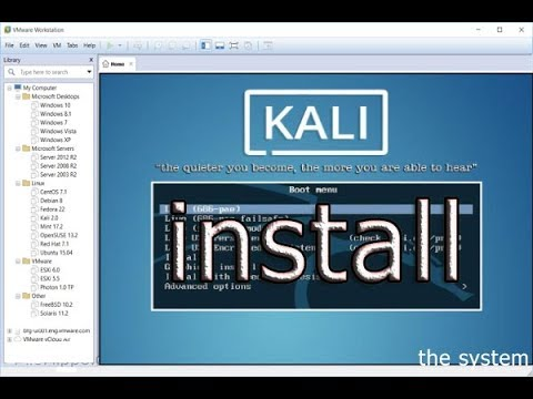 how,to,install,kali,linux,in,vmware,workstation,2017,how to haking