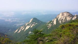 Sunrise di Puncak Chungwang, Jirisan Korea