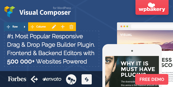 Free Download Visual Composer V4.7 Page Builder for WordPress Plugin