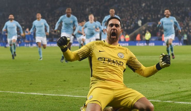 "Claudio Bravo said: ""I think life is not only about football, life involves a lot more, I have a family to consider, they are living in Manchester, we are thrilled that the kids are learning the language perfectly.     ""These are things that we consider as a family, setting aside whether I'm playing or not. It's all about being calm, to keep working, keep doing my job when I'm called upon, and being patient."""