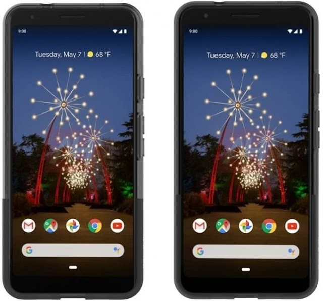 Google Pixel 3a and 3a XL official renders 2019
