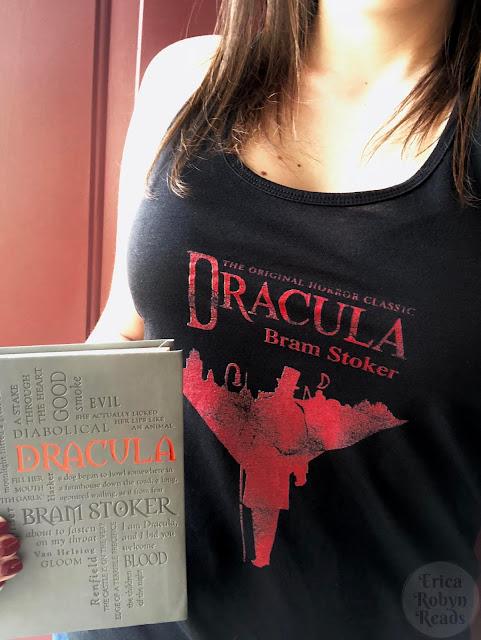 Dracula tank and book