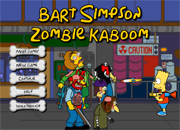 Bart Simpson Zombie Kaboom