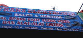 Lokasi Beberapa Toko Sparepart Elektronika di Kota Bekasi