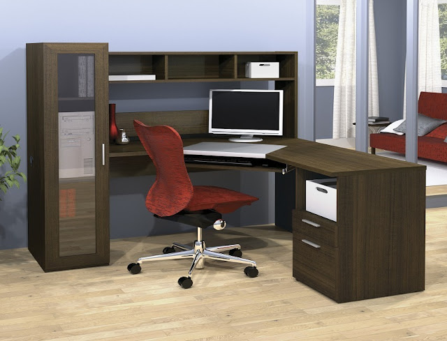 best buy l shaped home office furniture Los Angeles for sale