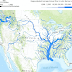 United States rivers drawn to show average annual flow