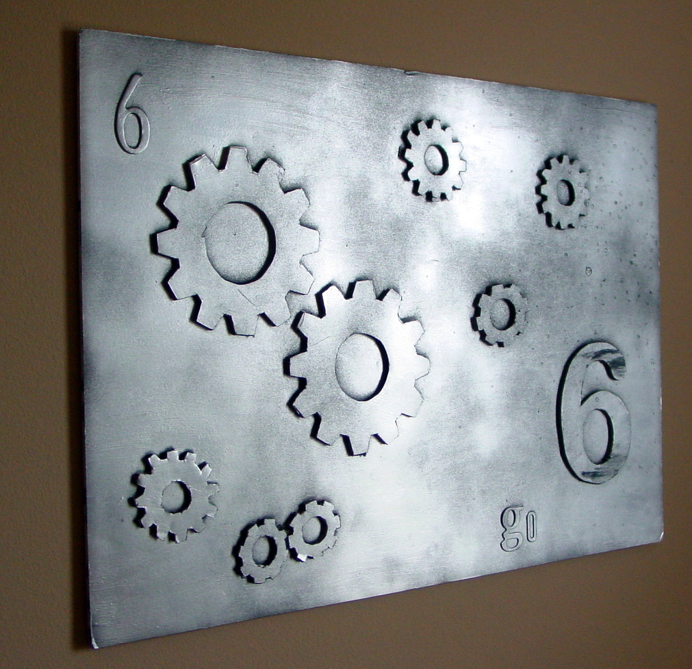 Gear Wall Art