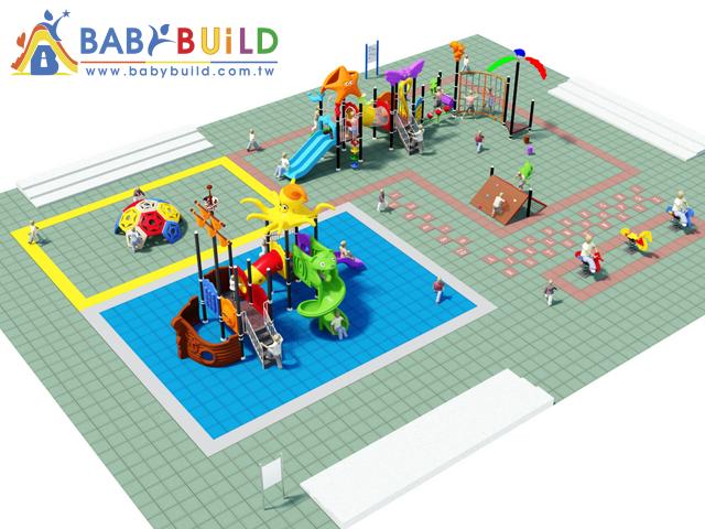 BabyBuild 遊具海盜船主題設計
