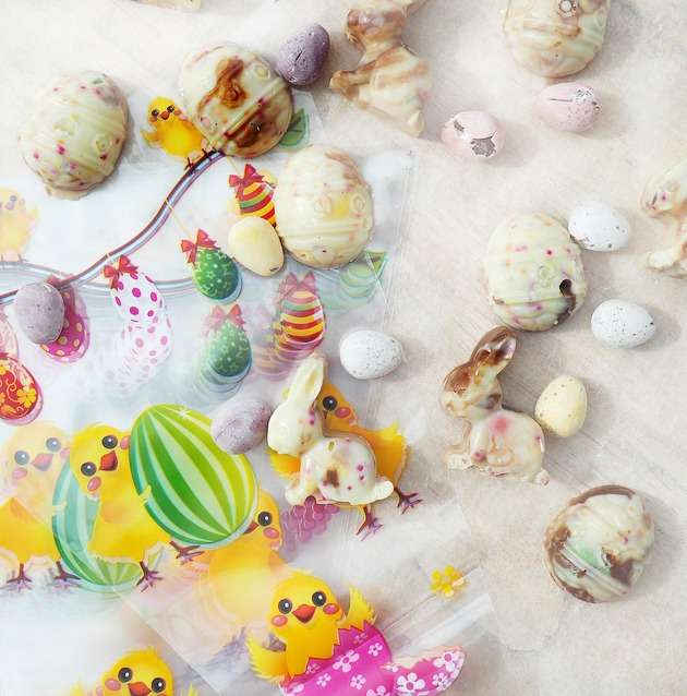 easter eggs and bunnies recipe