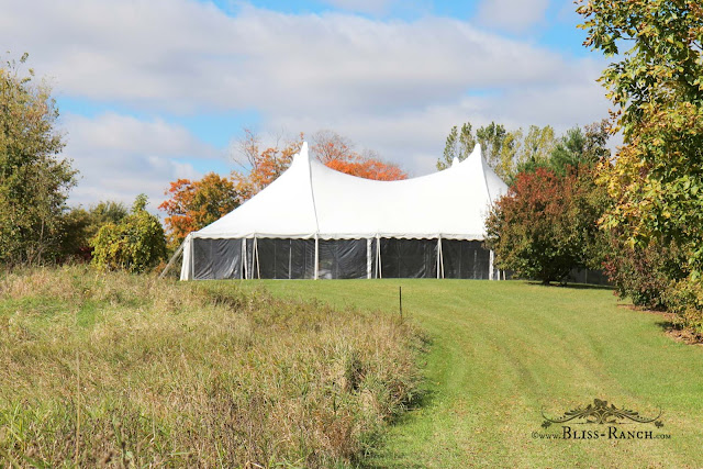 Wedding Tent, Bliss-Ranch.com