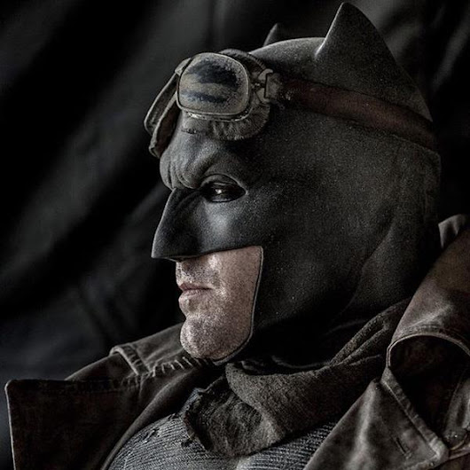Ultra Cool Goggled Dawn of Justice Batman photo by Clay Enos